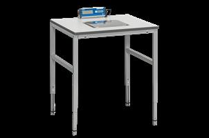 Vågbord med Våg 800x800x24 mm