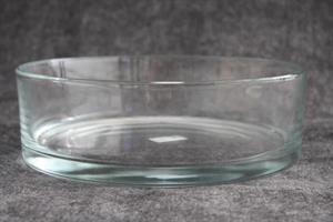 Glasskål cylinder D25cm H8cm 4/fp