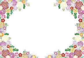 Oasis Kort Mini Floral Circle