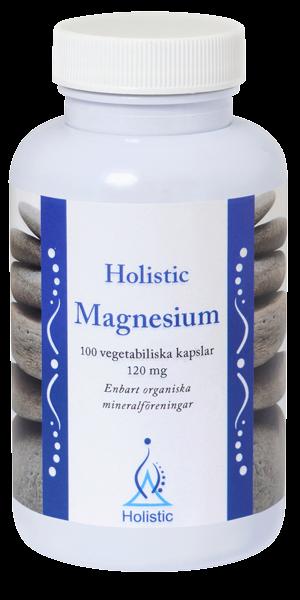 Magnesium 120mg,  100 kapslar