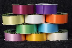 Band plast 5 cm olika färger ca 90 meter