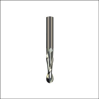 CNC Spiralfräsar Ball nose