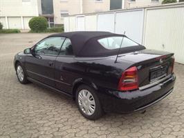 Sufflett Opel Astra 01-05 tyg svart