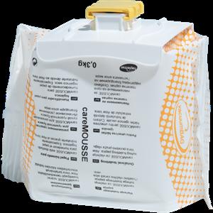 careMOUSSE vaskekrem i 0,3kg refill pakning