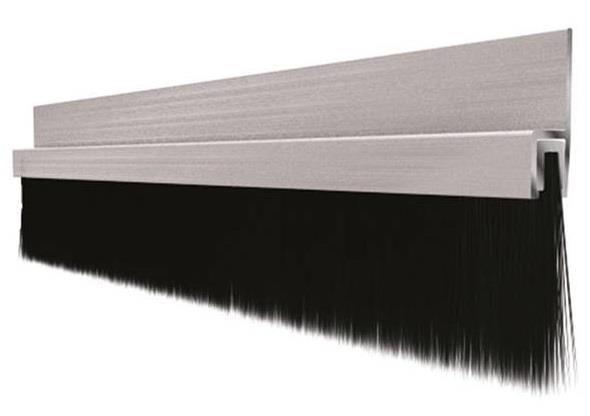 U-profil alu aluminium profiler børstelister vinkellist takprofil Hadeland Glass & Vaktmesterservice