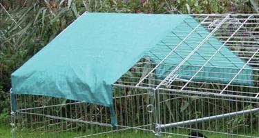 Extra takskydd till rastgård