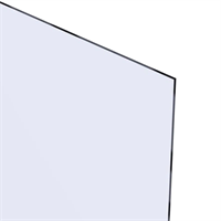 Akrylglass 4,0x800x600 mm - Klar