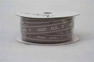 Band God Jul 12mm grå 10m/r