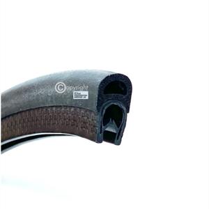 Kantprofil ST 36.817 sort (1,5-3 mm) - Løpemeter