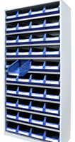 Backskåp 9007  blå  2000x980x400 (9068)