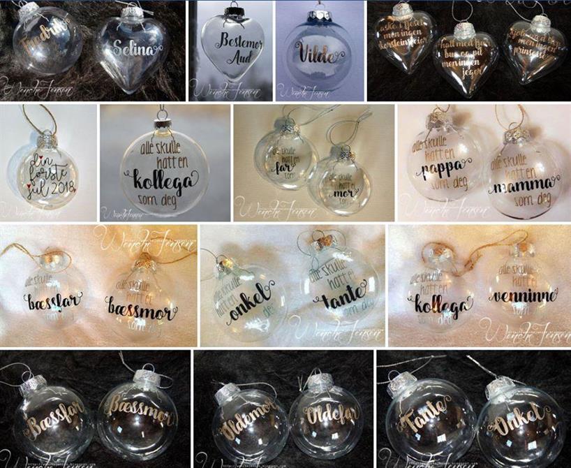 Eksempler på julekuler