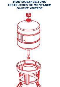 Vattenautomat på ben - 30 liter