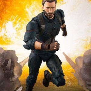 Avengers Infinity War, S.H.F, Captain America