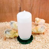 Vattenautomat för kycklingar/vaktlar 1L