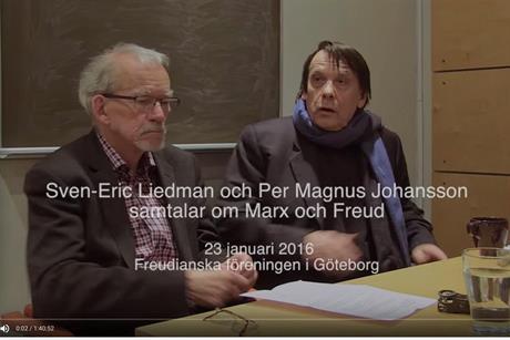Parallellsamtal om historiska aspekter på Freud och Marx