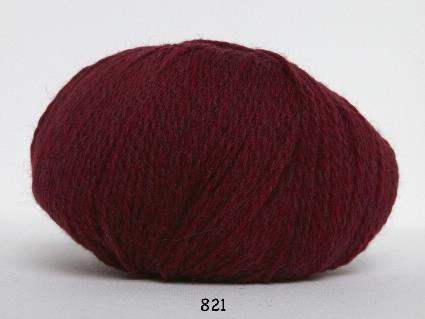 Kinna Textil Hjerte Fine vinröd
