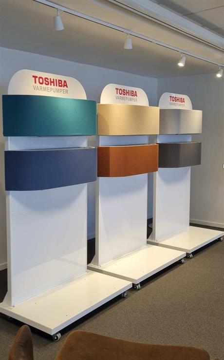 Ny modell fra Toshiba, på lager