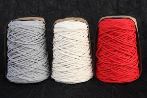 Band Bomullskordel 5mm olika färger
