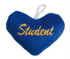 Studenthjärta med ögla 12/fp