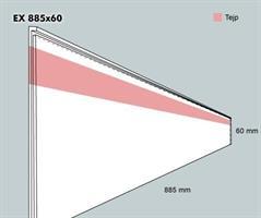 Etiketthållare. EX 885-60F