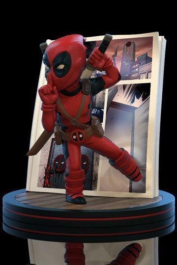 Marvel Q-fig Diorama, Deadpool 4D