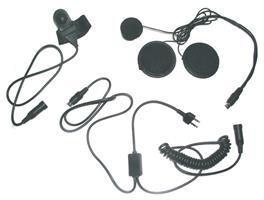 Hjälm headset HP02-M1. Dynamisk Mikrofon