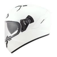KYT NF-R - Plain Pearl White