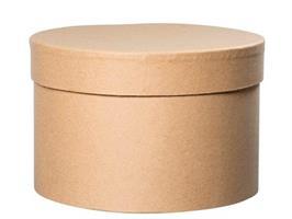 Hattbox natur D14cm H10cm
