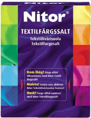 NITOR  TEXTILFÄRGSALT 500g