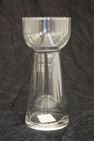 Hyacintvas / Glasvas D8cm H18cm