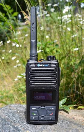Albecom VIPER X610 Analog/Digital Jaktradio 155mhz