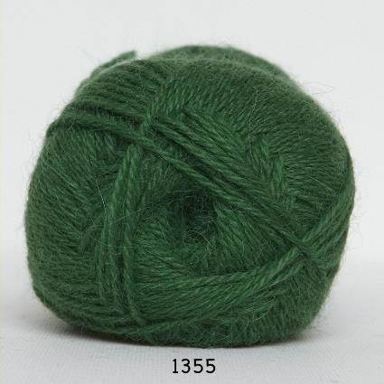 Kinna Textil Hjerte Alpacka grön
