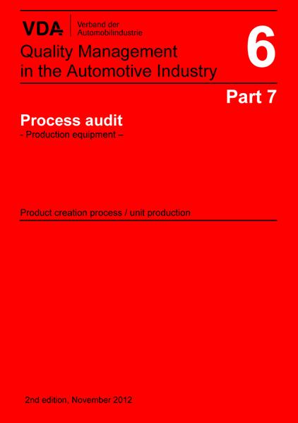 VDA Vol 6.7 Processrevision - Produktionsutr (ENG)
