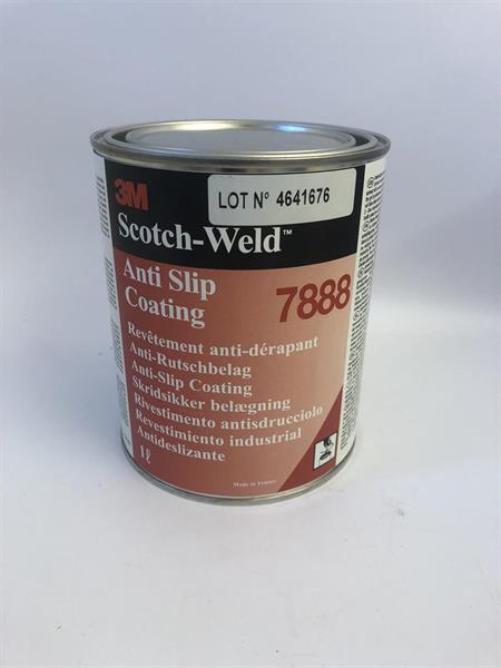 3M Scotch-Weld Anti Slip Coating 1 Liter Svart 7888