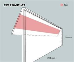 Etiketth. EXV 210-39F 27V tej