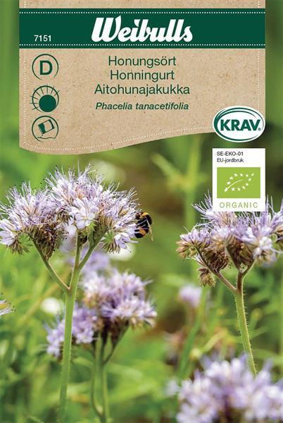 Honungsört KRAV Organic