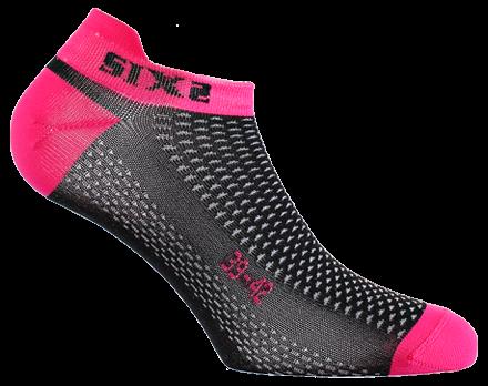 SIXS - No-Show Socks - Pink