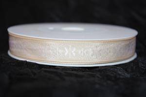 Band 15 mm 20 m/r beige ej tråd