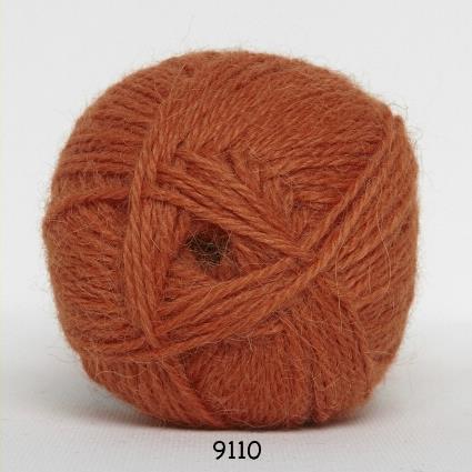Kinna Textil Hjerte Alpacka orange