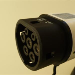 Type 2 Støpsel mot bil med 16mm kabeltettning