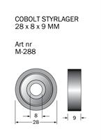 M-288 Kullager 28 x 8 x 9 mm