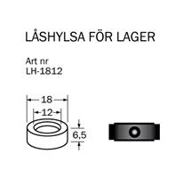 LH-1812 Låshylsa 12  x 18 mm