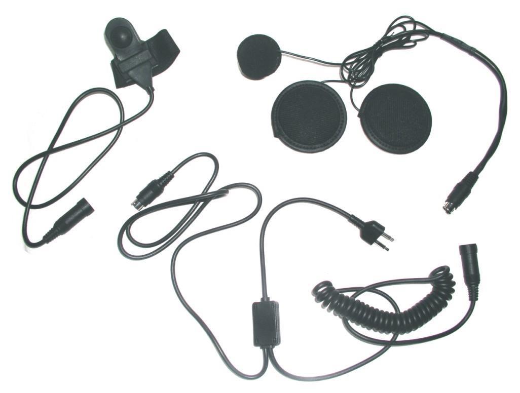 Hjälm headset Integral HP-M1. Radio