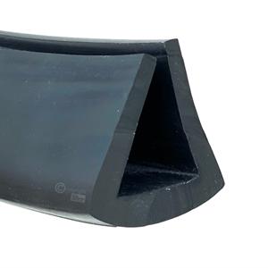 Fenderlist 29/45x49 mm Sort EPDM - Løpemeter