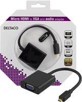 Adapter Micro HDMI - VGA & Audio