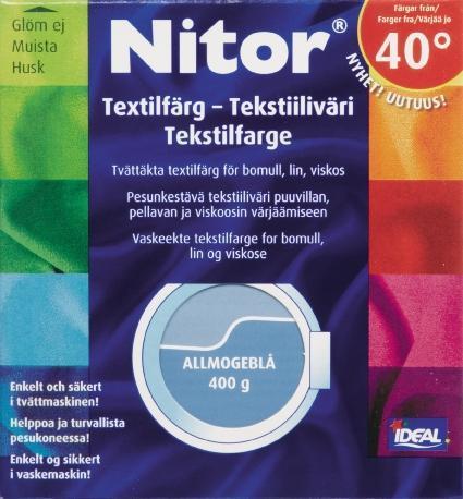 TEXTILFÄRG ALLMOGEBLÅ 25 NITOR