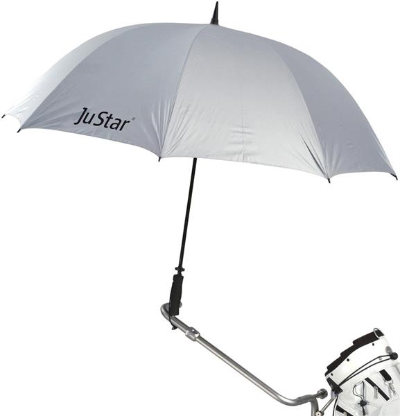 JuStar Paraply, Silver med UV-skydd