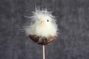 Påsk kyckling i rede, pinne 12/fp