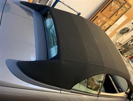 Sufflett BMW E64 05-09 TWR svart