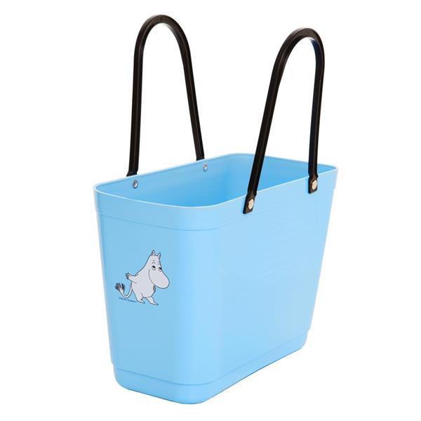 Hinza väska MUMIN ljusblå liten